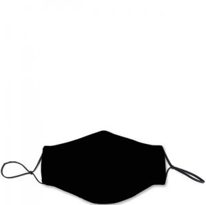 Fabric Face Mask - Solid Black