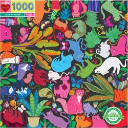 Eeboo 1000 pc Puzzle - Cats At Work