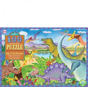 Eeboo 100 pc Puzzle - Age Of The Dinosaur