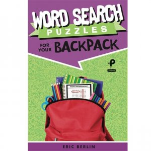 Puzzle Book - For Your Backpack - Word Search
