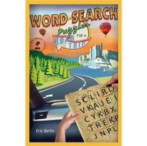 Puzzle Book for a Road Trip - Word Search