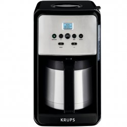 Krups 12 Cup Savoy Coffee Maker with Thermal Carafe