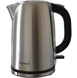 Capresso H20 6 Cup Steel Brushed
