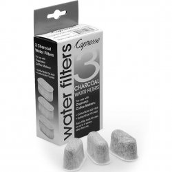 Capresso 3 Pack Charcoal Water Filters