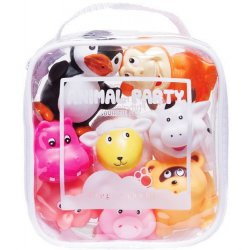 Squirtie Bath Toys - 8 pc Animal Set