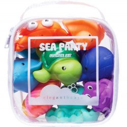 Squirtie Bath Toys - 8 pc Sea Set