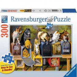 Ravensburger 300 PC Puzzle - Cat's Got Mail