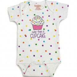 Onesie - Cuter Than A Cupcake