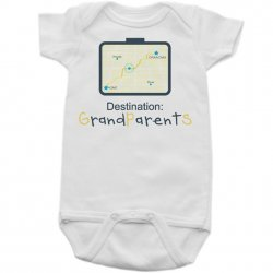 Onesie - Destination Grandparents
