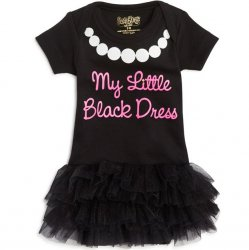 Onesie - My Little Black Dress with Tutu