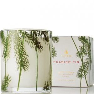 Thymes Frasier Fir Boxed Pine Needle Candle