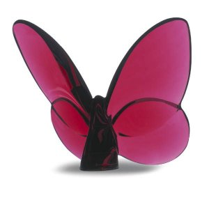 BACCARAT Lucky Butterfly, Ruby, Style #2104322