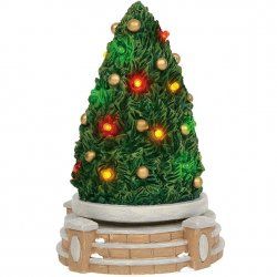Department 56 Lit Rotating Tree
