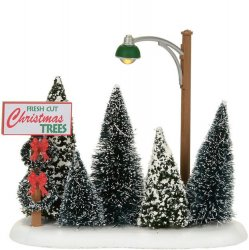 Department 56 Lit Christmas Tree Lot