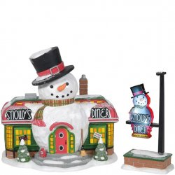 Department 56 Snowy's Diner