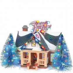 Department 56 Brite Lights Holiday House