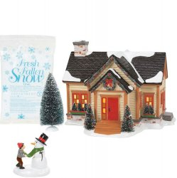 Department 56 Snow Village Building Christmas Cheer