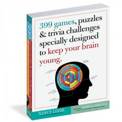 Workman 399 Games, Puzzles & Trivia Challenges Specially Designed to Keep Your Brain Young