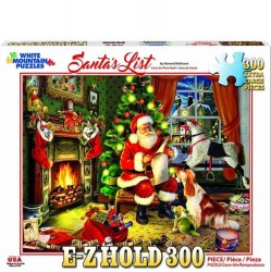 White Mountain 300 pc Puzzle - Santa's List