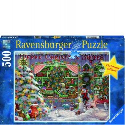 Ravensburger 500 PC Puzzle - The Christmas Shop