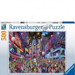 Ravensburger 500 PC Puzzle - New Year's in Times Square