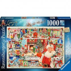 Ravensburger 1000 PC Puzzle - Christmas is Coming!