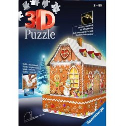 Ravensburger 216 PC Puzzle - 3D Gingerbread House