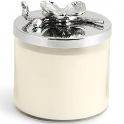 Michael Aram Butterfly White Orchid Candle