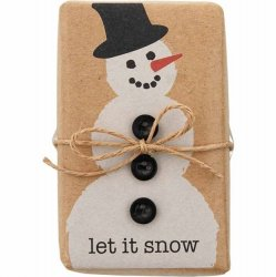Christmas Soap - Let It Snow