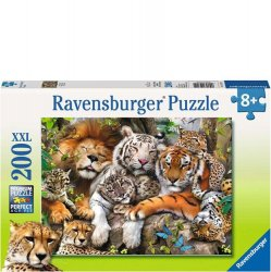 Ravensburger 200 pc Puzzle - Big Cat Nap