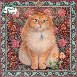 Flame Tree 1000 PC Puzzle - Blossom Cats