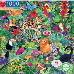 Eeboo 1000 pc Puzzle - Amazon Forest
