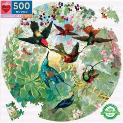 Eeboo 500 pc Puzzle - Hummingbird