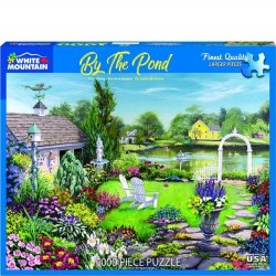 White Mountain 1000 pc Puzzle - By the Pond