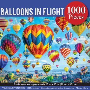 Peter Pauper 1000 pc Puzzle - Balloons in Flight