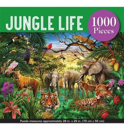 Peter Pauper 1000 pc Puzzle - Jungle Life
