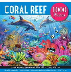 Peter Pauper 1000 pc Puzzle - Coral Reef