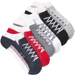 6 Pack No Show Socks - Sneakers