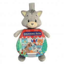 "Soft Books - 9"" Story Pals - Counting Pets"