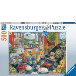 Ravensburger 500 PC Puzzle - The Music Room