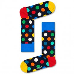 Happy Socks - Blue/Yellow Big Dot