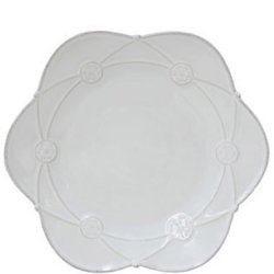 Casafina Meridian White - Decorated Salad Plate