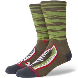 Stance Light Cushioned Sock - Olive Warbird