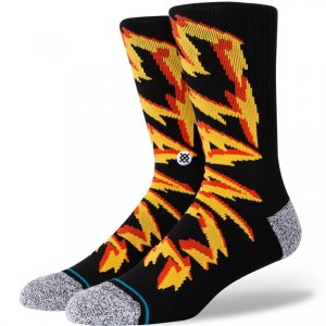 Stance Mid-Cushioned Sock - Black Electrified