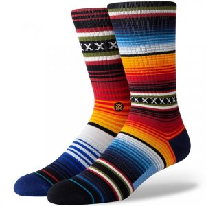 Stance Mid-Cushioned Sock - Red Stripe