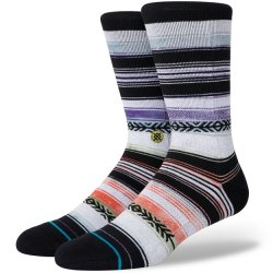 Stance Mid-Cushioned Sock - Orange Stripe