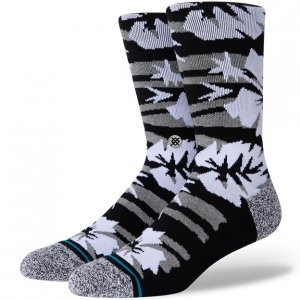 Stance Mid-Cushioned Sock - Black Floral
