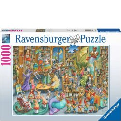 Ravensburger 1000 PC Puzzle - Midnight At The Library