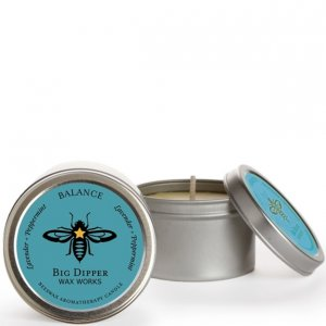 Beeswax 1.7 oz. Tin - Balance (Lavender & Peppermint)
