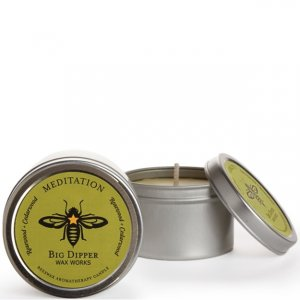 Beeswax 1.7 oz. Tin - Meditation (Cedarwood & Balsam)